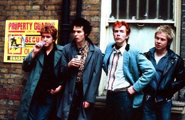 Los Sex Pistols en la lista de iTunes de Doña Cristina