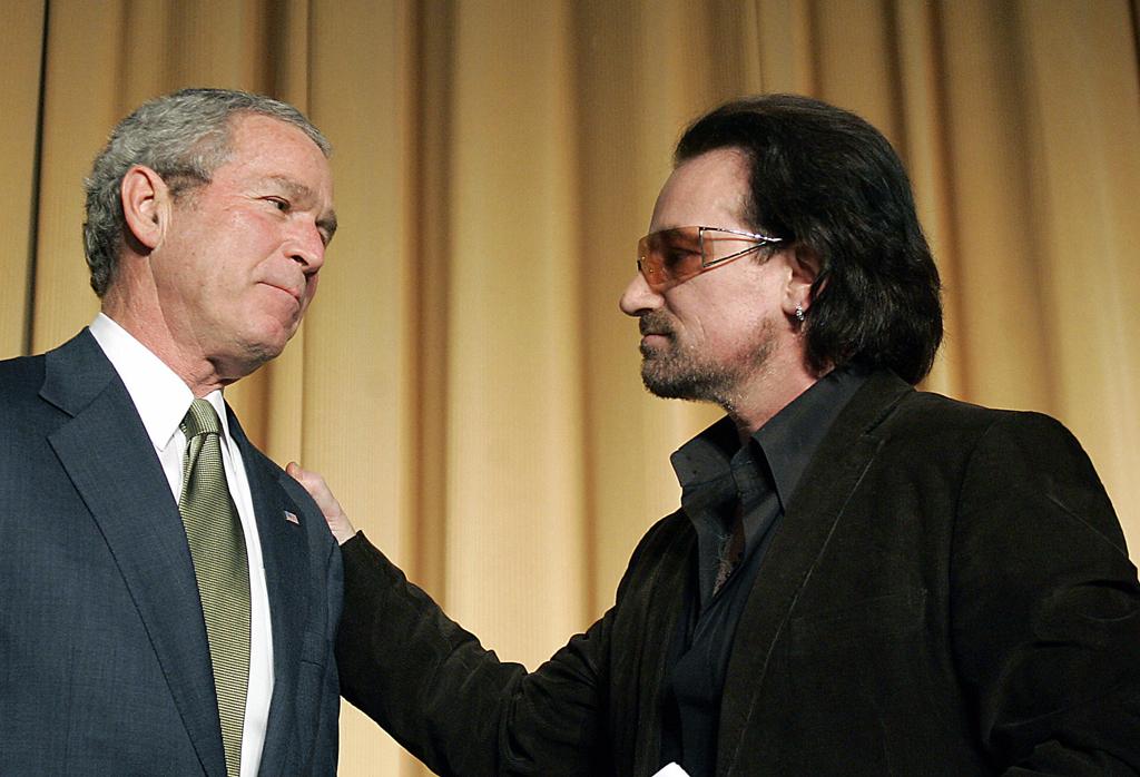 Bono-bush-Irak