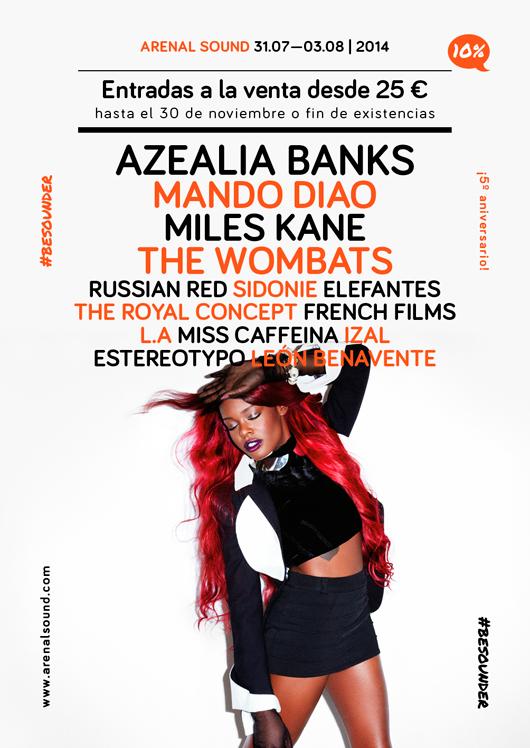 cartel Arenal Sound 2014